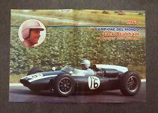 AA10 - POSTER - 1982 - JACK BRABHAM COOPER T53 , 1960 - 45,5x31 Cm