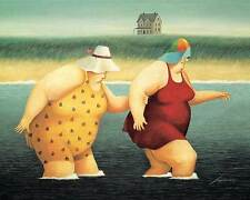 Lowell Herrero Judy and Marge Women Novelty Print Poster 16×20
