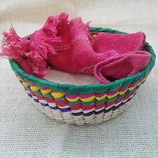 Tortillero de Palma. Tortilla Warmer Basket. Handmade. Mexican Folk Art. 1pc. LG