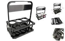 Reusable Drink Carrier FoldableBeer Caddy Beverage Delivery Holder Plastic