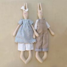 POCKET & FLOSS - Sewing Craft PATTERN - Cloth Rag Doll Bear Rabbit Easter Bunny