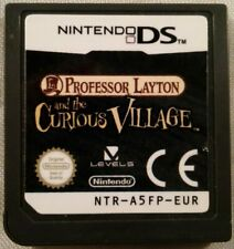 Professor Layton and the Curious Village (Nintendo DS) CARTRIDGE ONLY *TESTED*