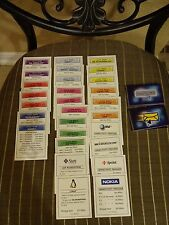 2000 Monopoly The .Com Edition  Property Deeds Replacements Game Parts