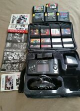 Sega Genesis Nomad MK-6100 Black Video Game Console + 14 games & more