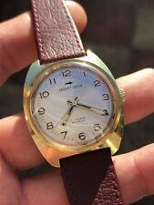 1970s Jaquet Droz Bobinado A Mano Reloj para hombres 34,8mm Enchapado en Oro Suizo