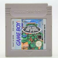 Turtles II: Back From Sewers | Nintendo Game Boy | GameBoy Classic | Akzeptabel