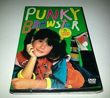 """Punky Brewster - Eight Complete Episodes (DVD, 2009) SOLEIL MOON FRYE  """"NEW"""""""