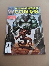 Savage Sword of Conan 185 .  Marvel 1991 -  FN  / VF