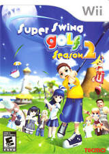 Super Swing Golf Season 2 Wii Great Condition Fast Shipping