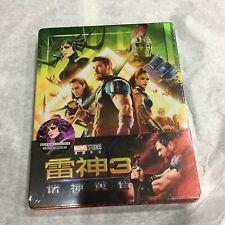Thor Ragnarok 3D 2D Blu-ray Steelbook 1/4 slip quarter Blufans Marvel New #630