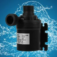 DC 24V 5m 800L/H Ultra Quiet Brushless Motor Submersible Pool Water Pump Solar