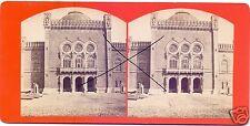 19547/ Stereofoto 9x17,5cm, Oskar Kramer, Wien Das Arsenal,Hofseite, ca. 1870