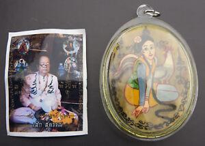 Amuleto Tailandese Talismano Mae Maha Sanaeh Genere Casinò Amour Salute Luck Set