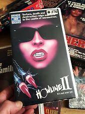 1984 HOWLING II 2 THORN EMI CLAMSHELL HORROR CULT VHS WEREWOLF SYBIL DANNING