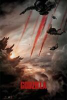 Godzilla : Skydive - Maxi Poster 61cm x 91.5cm new and sealed