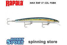 RAPALA ARTIFICIALE SPINNING MAX RAP MXR 17 COL. FSBM GR 28 SPECIALE SPIGOLA