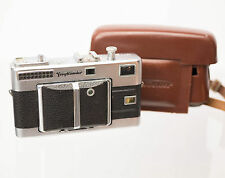 Voigtlander Vitessa 35mm Film Camera W/ Skopar 1:2.8 50mm Lens And Case