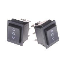 2PCS 6 Pins On-Off-On Rocker Switch Momentary Rocker Switch TX