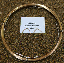 0.8mm x 10m 21 SWG Silicon Bronze Craft Wire TIG Brazing No 968  CuSi3Mn1