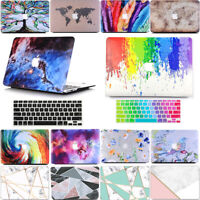 2in1 Hard Protective Case + Keyboard Skin for Macbook Air 13 A1369 A1466 A1932