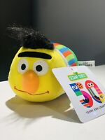 New 2019 Sesame Street 50th Anniversary Stackable Bert Plush Toy FACTORY Soft Sm
