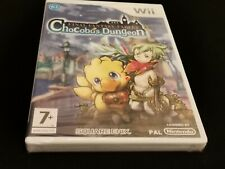 Final Fantasy Fables Chocobos Dungeon For Nintendo Wii -- New Sealed English PAL