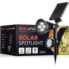 SOLVAO Solar Spot Light - LED Outdoor Spotlight for Garden, Flag Pole & Yard