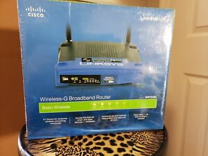 Cisco router wireless 2.4 GHZ LINKSYS BROADBAND ROUTER WITH PORT SWITCHES Sealed