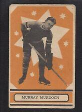1933 OPC V304A #37 Murray Murdoch, Vintage New York Rangers NHL Hockey 1933-34