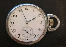 Rare 1918 ELGIN. High Grade. 103 Years old Pocket Watch 16S 17J Just Serviced