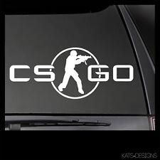 CS:GO Counter-Strike Go Logo Vinyl Decal!  Car Truck window sticker GAM-00042
