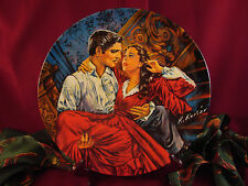 """""""Scarlett and Rhett The Finale"""" Gone with the Wind Knowles Plate Only"""