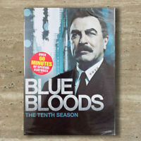 Blue Bloods Season 10 (DVD,4-Disc,Region 1) Fast shipping US Seller Brand New