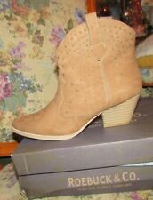 Women's Indra Western Boot - Tan Size 8