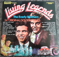 "The Everly Brothers - Living Legends 12"" Vinyl LP 1972 Wake Up Little Susie"