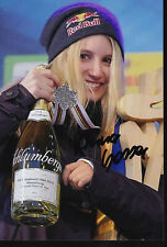 Anna GASSER - AUT - Snowboard - Olympia 1.OS Gold 2018 Foto signiert