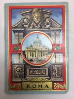 Vintage Record Of Rome Travel Souvenir Fold Out Picture book Panoramic Views