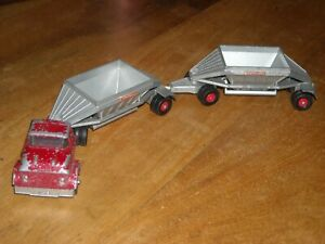 Matchbox Lesney Major Pack M4 King Size Fruehauf Hopper Truck Trailer 1960s