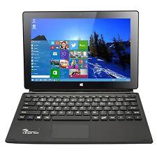 10.1'' Windows 10 Quad Core Intel IPS 64GB 10 inch Tablet  Laptop w/ Keyboard