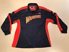 NBA GOLDEN STATE WARRIORS Throwback Reebok Warmup Jacket!!