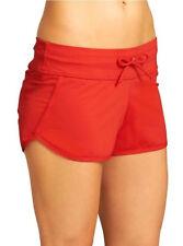 Athleta Saffron Red Kata Swimsuit Swim Short 8 10 M