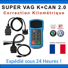 SUPER VAG K+CAN 2.0 - Diagnostique & Correction Kilométrique - TACHO COM VAG OBD