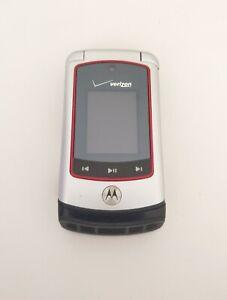 Motorola Adventure V750 - Silver / Black ( Verizon ) Cellular Flip Phone