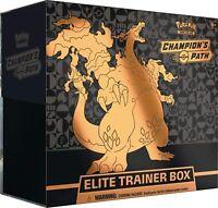 Pokemon TCG Elite Trainer Box (ETB) Champions Path / S&M Burning Shadows