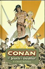 HC CONAN AND THE JEWELS OF GWAHLUR HARDCOVER - P. CRAIG RUSSELL