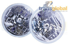 """Crystal Clear H4 Halogen Headlight Kit for Range Rover Classic 7""""  - Bearmach"""