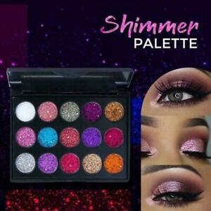 Glitter Eyeshadow 15 Colors Matte Makeup Kit Shimmer Shadow T Powder Eye L5X3