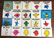 Lot 33 Roger Hargreaves MR. MEN & LITTLE MISS books