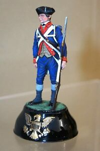 CHAS STADDEN 11 PRIVATE 3rd NEW JERSEY BLUES REGIMENT 1777 STUDIO PAINTED ow