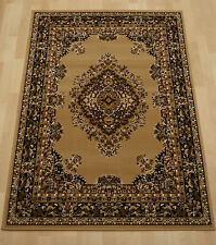 Cheap Budget beige traditional oriental rug extra large medium rug 240x330 cm